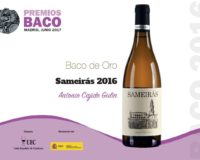 Nuevo reconocimiento para nuestros vinos. Sameirás Blanco